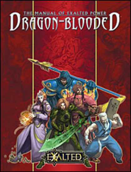 Role Playing Games - Manual of Exalted Power: Dragon-Blooded