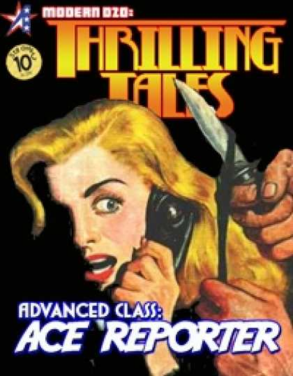 Role Playing Games - THRILLING TALES: Advanced Class- ACE REPORTER