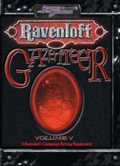 Role Playing Games - Ravenloft Gazetteer V