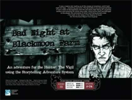 Role Playing Games - Bad Night at Blackmoon Farm (Hunter: The Vigil)
