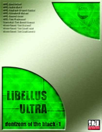 Role Playing Games - Libellus Ultra: Denizens of the Black 1