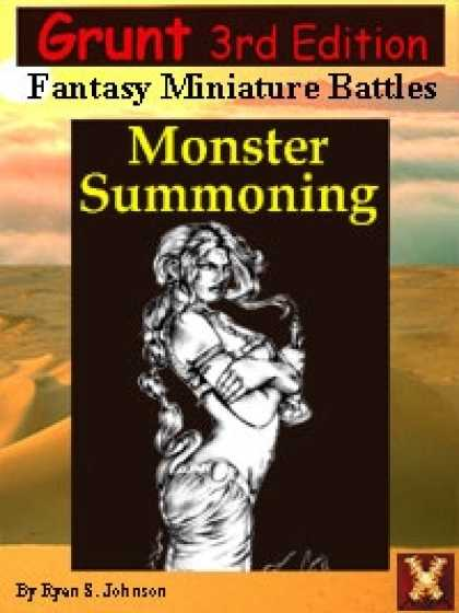 Role Playing Games - 3rd Ed: Grunt Monster Summoning Sourcebook