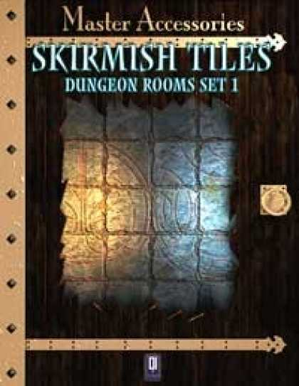 Role Playing Games - SKIRMISH TILES, dungeon rooms set 1