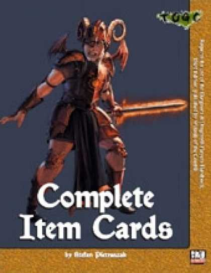 Role Playing Games - Complete Item Cards
