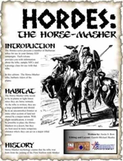 Role Playing Games - HORDES: The Horse-Masher