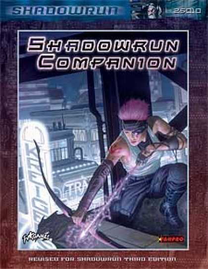 Role Playing Games - Shadowrun Companion