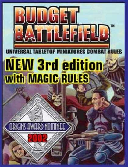 Role Playing Games - Budget Battlefield Universal Miniatures Rules