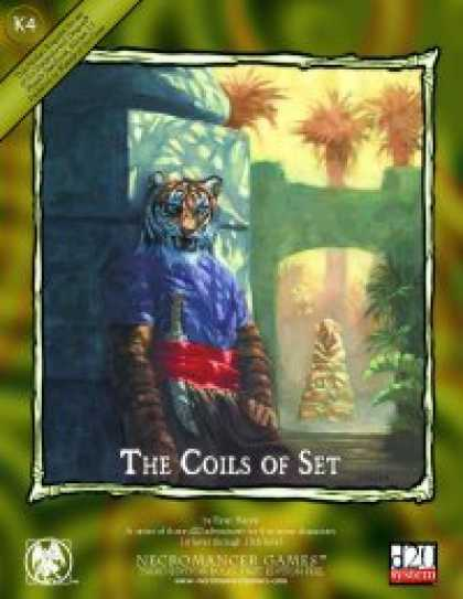 Role Playing Games - The Coils of Set