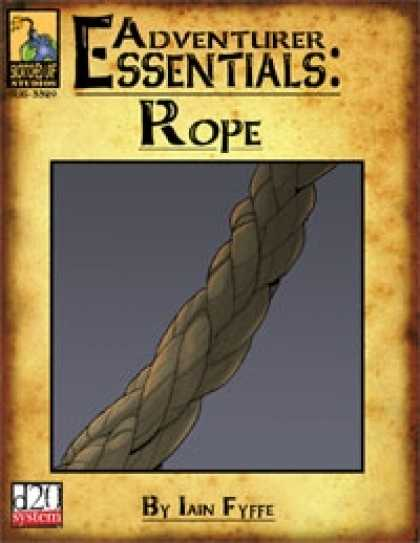 Role Playing Games - Adventurer Essentials: Rope