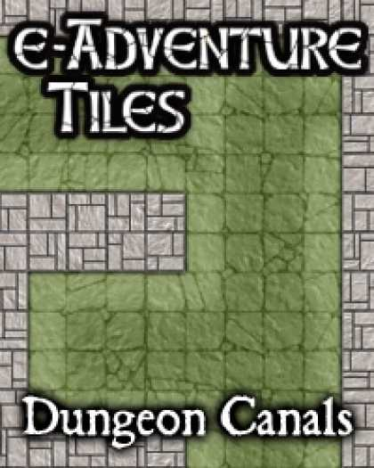 Role Playing Games - e-Adventure Tiles: Dungeon Canals
