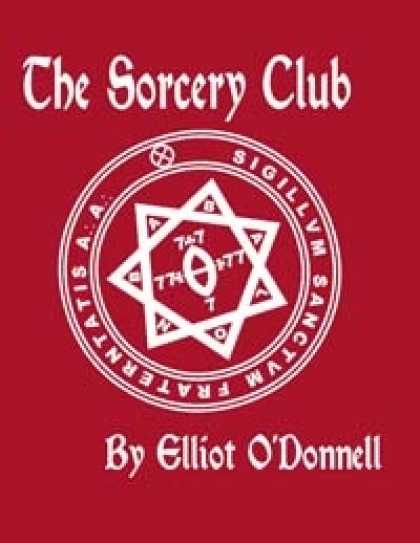 Role Playing Games - Classics of the Occult and Supernatural: The Sorcery Club