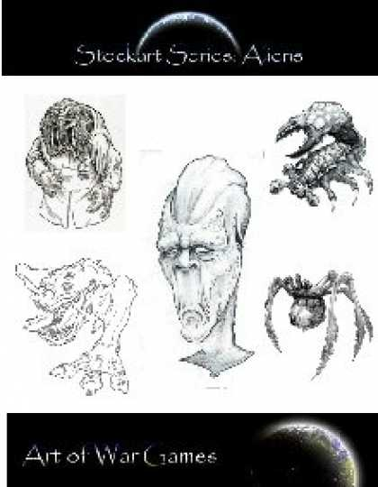 Role Playing Games - Stock Art Series Aliens
