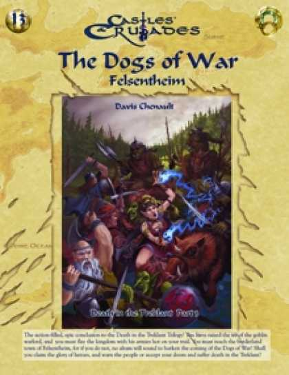 Role Playing Games - C&C I3 Dogs of War: Felsentheim