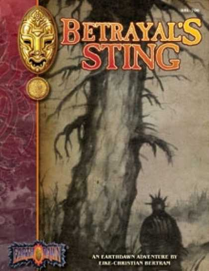 Role Playing Games - Betrayal's Sting: An Earthdawn Shard