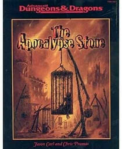 Role Playing Games - The Apocalypse Stone
