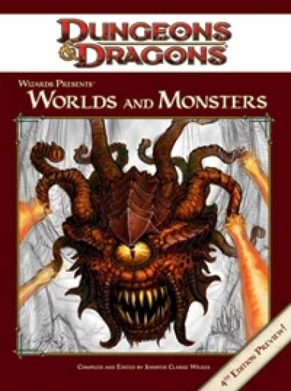 Role Playing Games - Wizards Presents: Worlds and Monsters