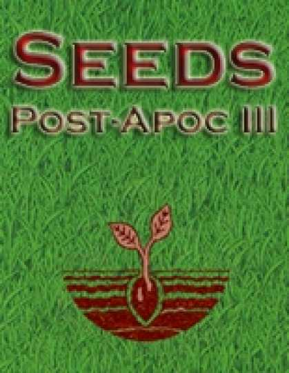 Role Playing Games - Seeds: Post-Apocalyptic III