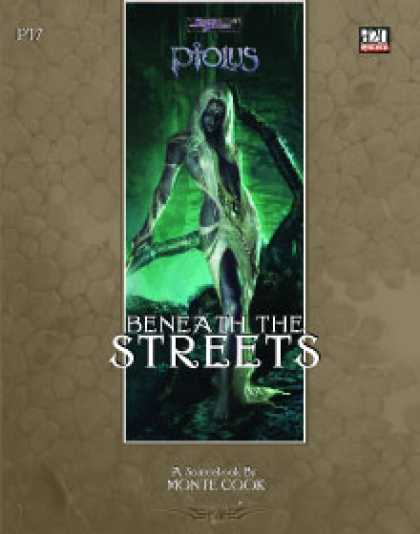 Role Playing Games - Ptolus: Beneath the Streets