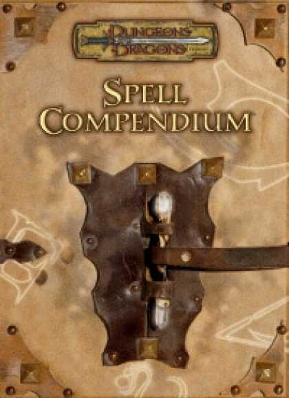 Role Playing Games - Spell Compendium