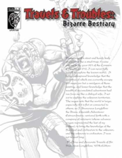 Role Playing Games - Travels & Troubles: Bizarre Bestiary