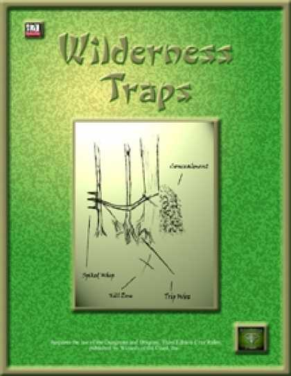 Role Playing Games - Wilderness Traps