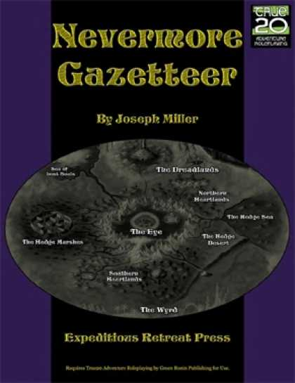 Role Playing Games - Lands of Nevermore: Gazetteer