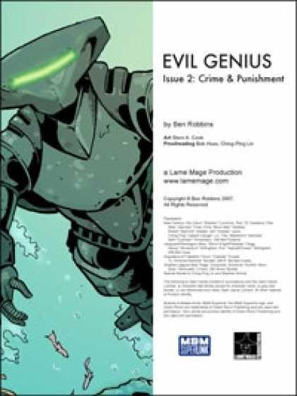 Role Playing Games - Evil Genius #2: Crime & Punishment