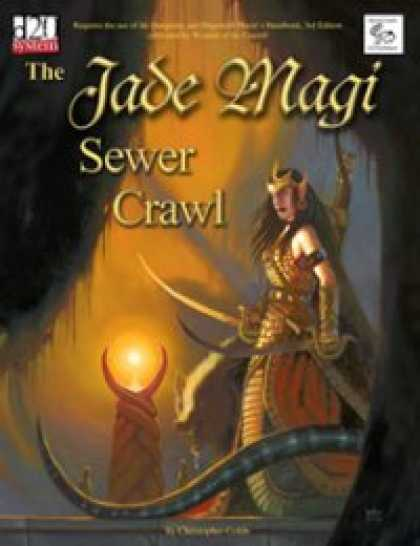 Role Playing Games - MonkeyGod Presents: The Jade Magi Sewer Crawl