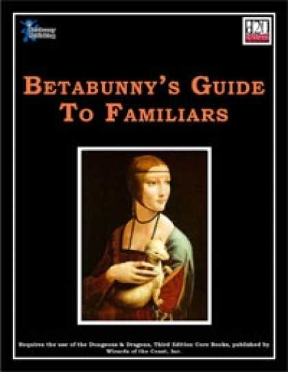 Role Playing Games - Betabunny's Guide To Familiars