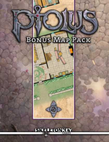 Role Playing Games - Ptolus Bonus Map Pack