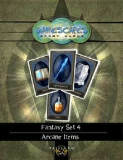Role Playing Games - Gamescapes: Story Cards, Fantasy Set 4