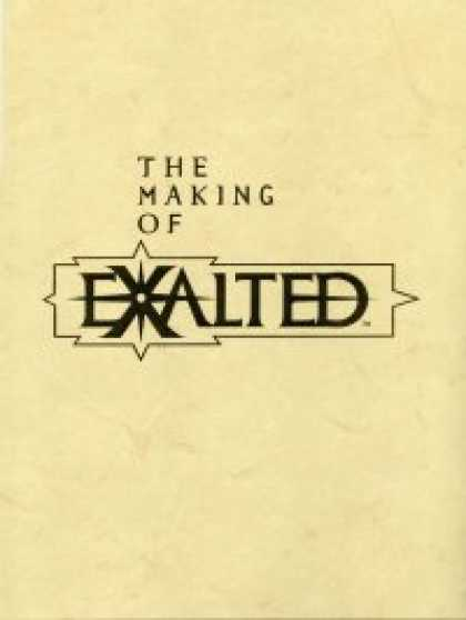 Role Playing Games - Making of Exalted, The (Artbook)