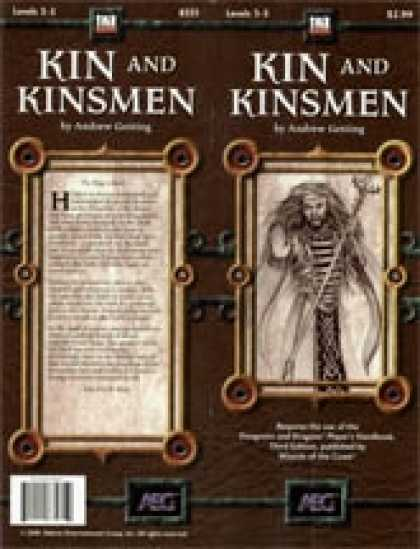 Role Playing Games - Kin and Kinsmen