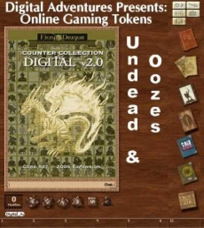 Role Playing Games - Online Gaming Tokens Pack #8: Undead & Oozes