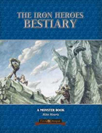 Role Playing Games - The Iron Heroes Bestiary