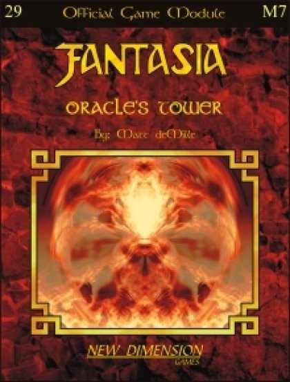 Role Playing Games - Fantasia: Oracle's Tower--Module M7