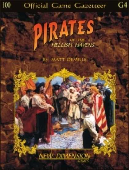 Role Playing Games - Pirates: Hellish Havens--Supplement S4