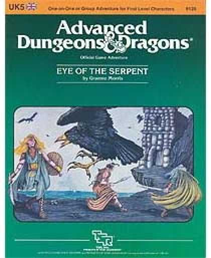 Role Playing Games - UK5 - Eye of the Serpent