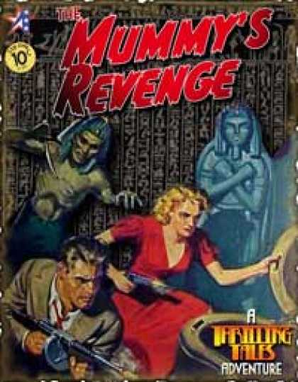 Role Playing Games - THRILLING TALES: The Mummy's Revenge