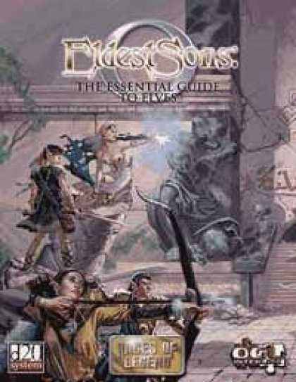 Role Playing Games - Eldest Sons: the Essential Guide to Elves