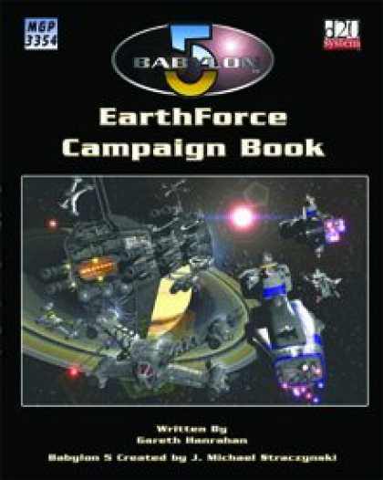 Role Playing Games - EarthForce Campaign Book