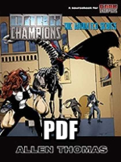 Role Playing Games - Dark Champions: The Animated Series - PDF