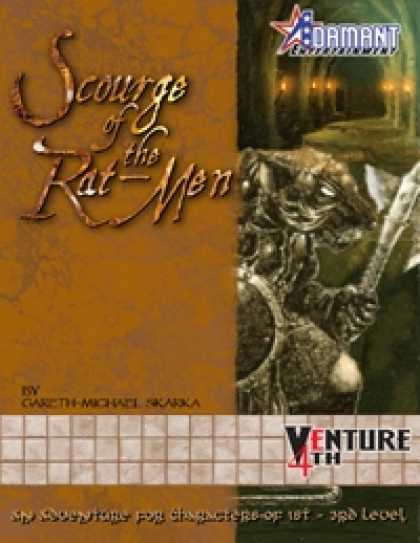 Role Playing Games - Venture 4th: Scourge of the Rat-Men