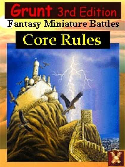 Role Playing Games - 3rd Ed: Grunt Fantasy Miniature Battles