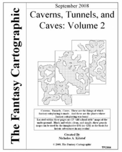 Role Playing Games - Caverns, Tunnels, and Caves: Volume 2
