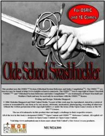 Role Playing Games - Olde School Swashbuckler