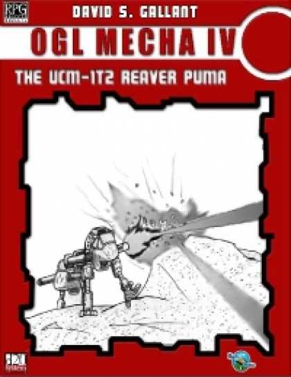 Role Playing Games - RDP: OGL Mecha IV: the UCM-1T2 Reaver Puma