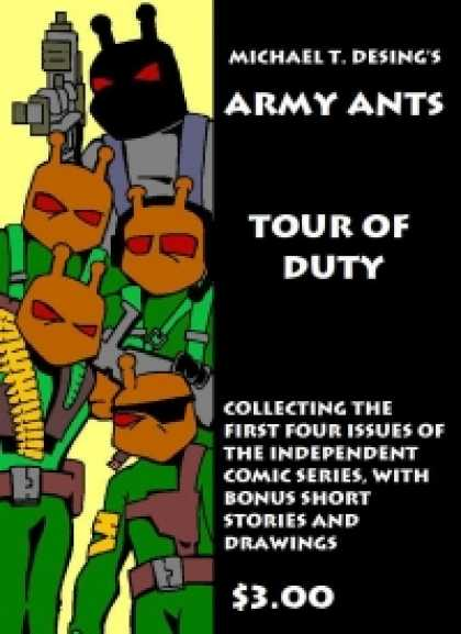 Role Playing Games - Army Ants: Tour of Duty