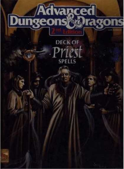 Role Playing Games - Deck of Priest Spells
