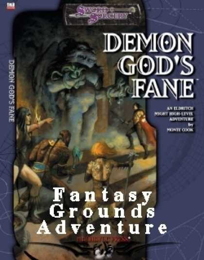 Role Playing Games - Monte Cook's Demon God's Fane Fantasy Grounds Conversion